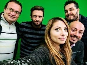 Il selfie con Ciri dopo la trasmissione