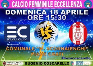 Eugenio Coscarello-Rende (1^a giornata di Eccellenza Femminile)