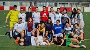 Le ragazze del Rende Calcio Femminile